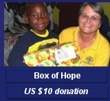Make Jesus Smile Haiti shoebox project  US $10 donation