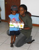 While in Dominica Island Impact worked together with Jenny Tryhane, Founder of United Caribbean Trust (UCT), to distribute the Make Jesus Smile shoboxes to the children of Dominica.