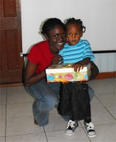While in Dominica Island Impact worked together with Jenny Tryhane, Founder of United Caribbean Trust, to distribute the Make Jesus Smile shoboxes to the children of Dominica.