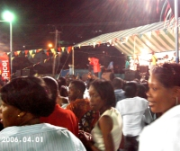 Island Impact Outreach Ministries visits  St Vincent Gospelfest