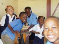 Happy faces the children of Carriacou