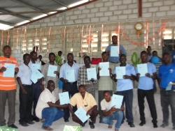 The first ever KIMI Haiti Pastor's introductory KIMI training took place in St Marc at Maranatha Ministries.