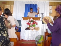 Praise and Worship at Pentecostal House of Prayer with Pastor Sherwood Howell