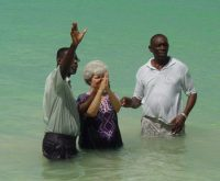 Baptism in Barbados