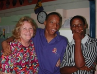 Maureen Bravo founder of RUII Resources Unlimited International Inc visits Barbados