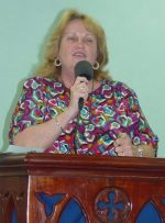 Maureen Revival service at the Messiah House.