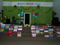 What a joy to visit Suriname with the Make Jesus Smile shoe box project in April 2008.