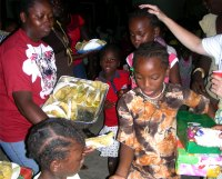 As the children left we were able to pay hands on every child and pray a blessing of Jehovah Jirrah
