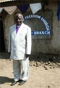 Bishop Samson Mwalyego who is our