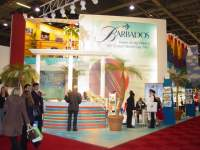 Barbados stand at the WTM