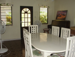 Zion Mission House  dining room