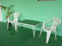 Angels Annex has a long wide veranda with different seating arrangements ideal to relax and fellowship.