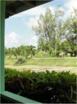 Angels Annex is located in a lovely tropical garden with wide open spaces for rest and recreation.