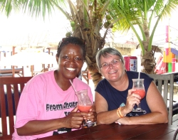 Come and meet old friend and make new friends in our island home - Barbados.