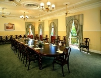 Each of these floors have their own conference rooms and buffet style dining rooms they can be set formally for special occasions such as weddings