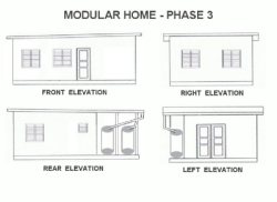These Modular homes have been designed to enable clients to build in stages and are ideal for the 'Starter Homes'.
